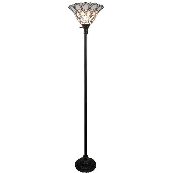 72 Torchiere Floor Lamp by Amora Lighting