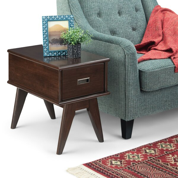 Halvorson End Table with Storage by George Oliver