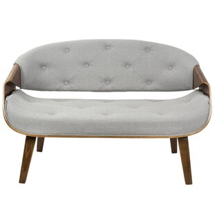 Jamie Tufted Settee by Langley Street