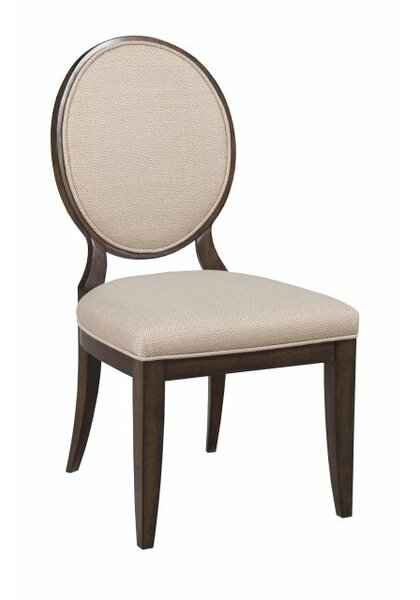 Bordeaux Upholstered Dining Side Chair by Canora Grey