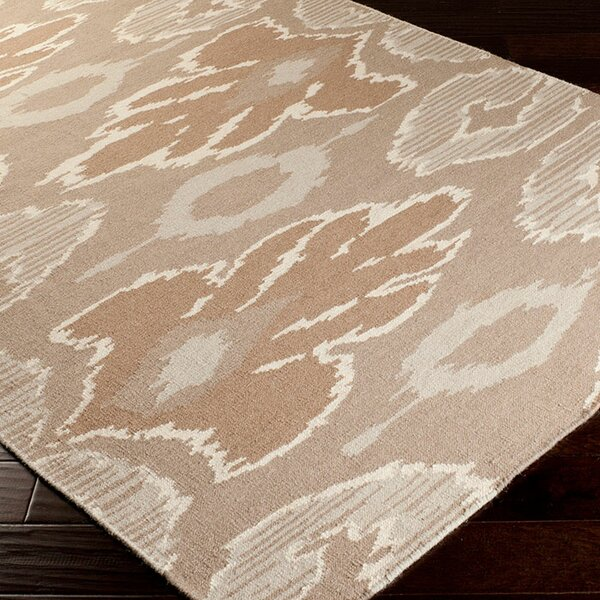 Alameda Hand woven Brown/Tan Area Rug by Beth Lacefield