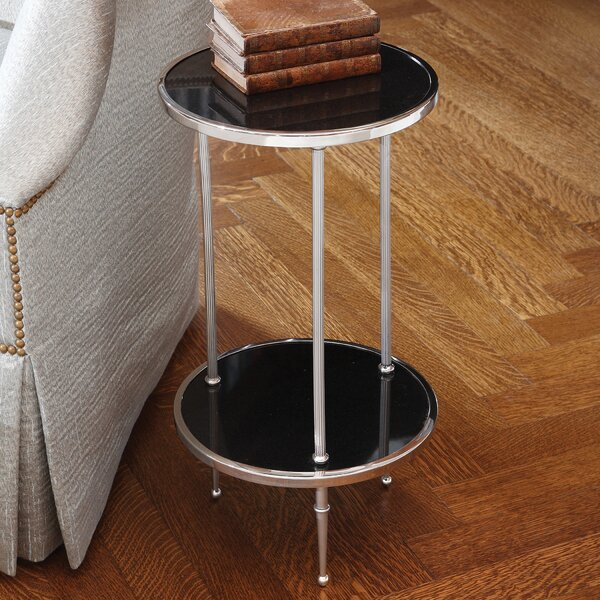 Multi-Tiered End Table By Global Views