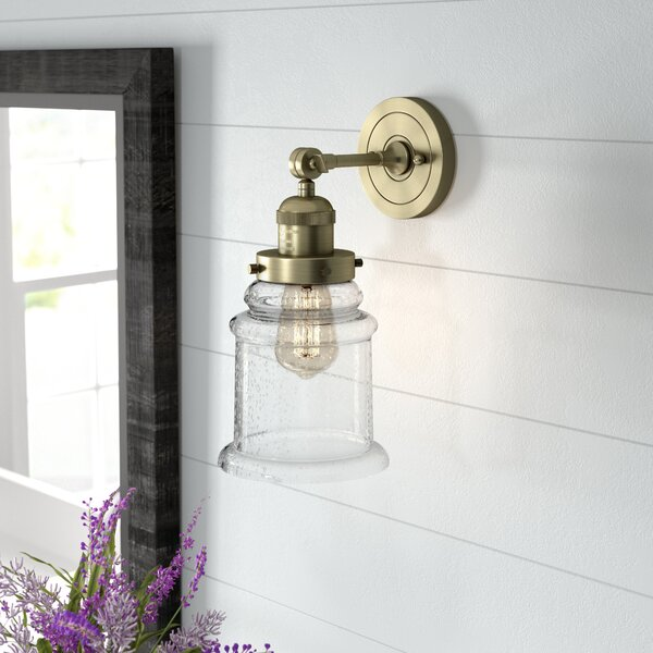 Greeley 1 Light Bath Sconce [Laurel Foundry Modern Farmhouse]