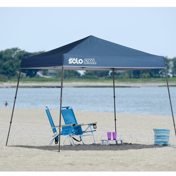 Solo 10 Ft. W x 10 Ft. D Steel Pop-Up Canopy by QuikShade
