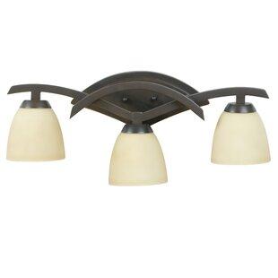Compare prices CallineCreek 3-Light Vanity Light By Red Barrel Studio