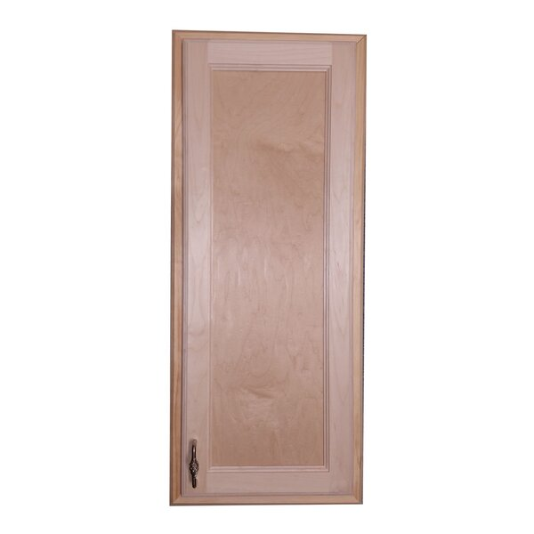 Christopher 15 W x 37 H Recessed Cabinet by WG Wood Products