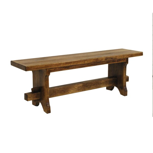 Two Seat Wood Bench By Artesano Home Decor