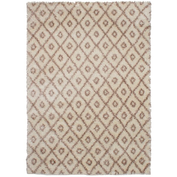 Corbett Brown/Cream Area Rug by Foundry Select