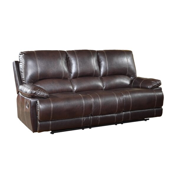 Best #1 Ullery Upholstered Living Room Recliner Reclining Sofa By Winston Porter 2019 Online
