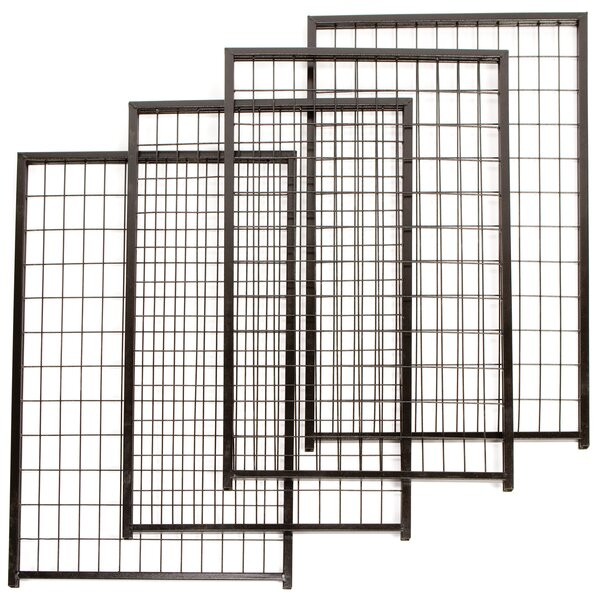 Cottageview Steel Yard Kennel Expansion Panels (Set of 4) by FENCEMASTER