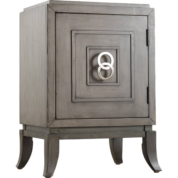 Melange Easton Chairside Accent Cabinet by Hooker Furniture