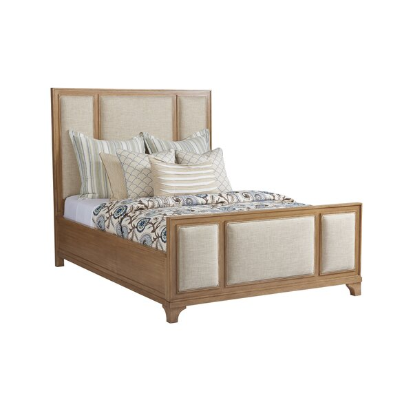 Newport Upholstered Platform Bed by Barclay Butera