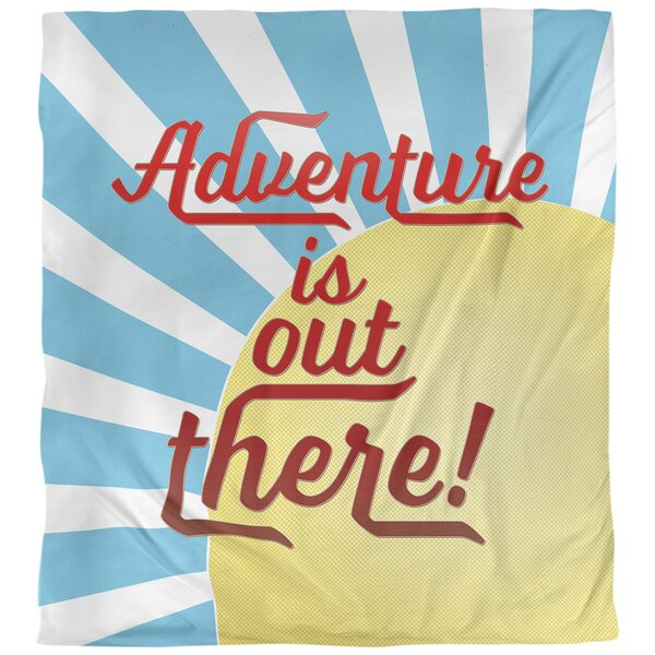 Fun Adventure Quote Single Duvet Cover