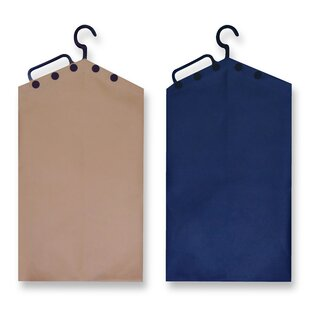 Compare prices Hanging Laundry Bag (Set of 2) By Handy Hamper