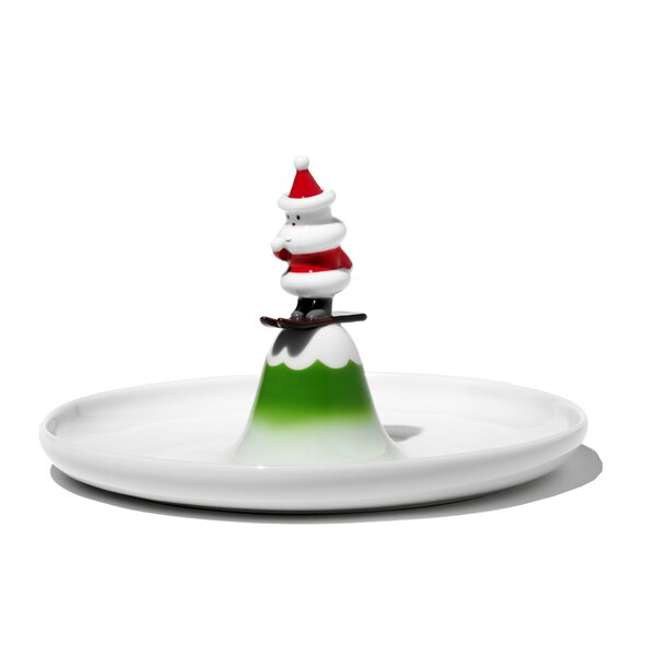Holiday Figurines Scia Natalino! Pastry Platter by Alessi