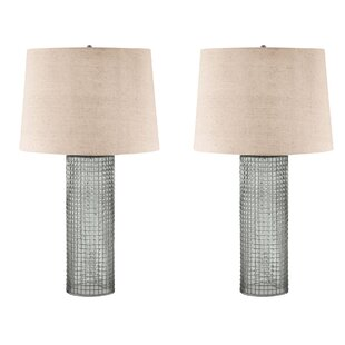 Chicken wire lamp wayfair barboza with wire 28 table lamp set of 2 keyboard keysfo Images