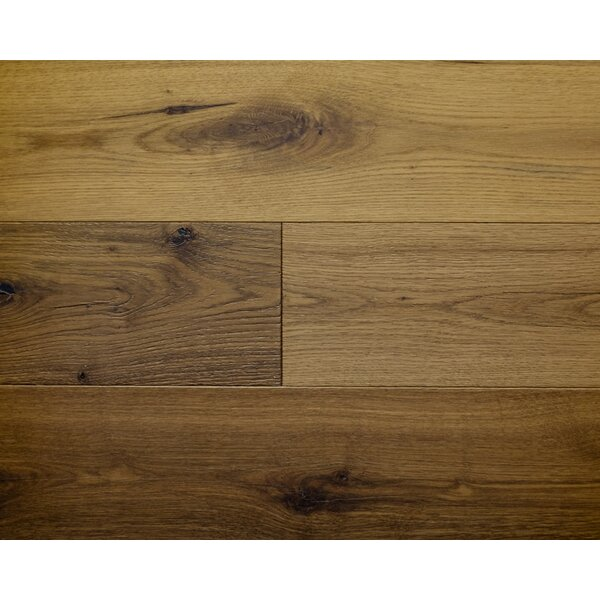 American Traditions 7 Engineered White Oak Hardwood Flooring in Cottage by Albero Valley
