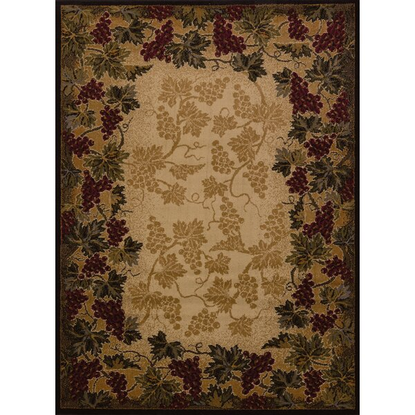 Affinity Beaujolais Ivory Area Rug by United Weavers of America