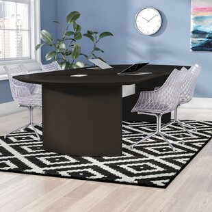 Comparison Peabody Curved End Conference Table ByZipcode Design
