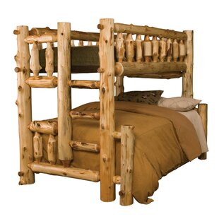 Traditional Cedar Log Bunk Bed