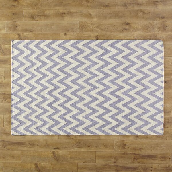 Moves Like Zigzagger Purple Rug by Birch Lane Kids™