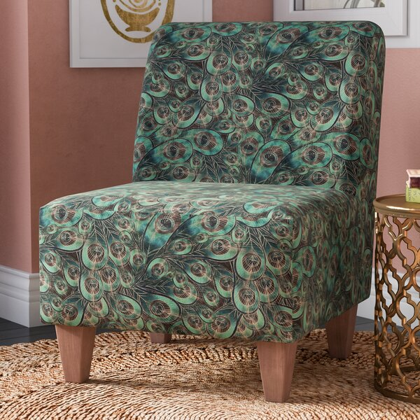 Ronda Armless Slipper Chair by Bloomsbury Market