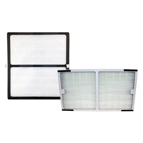 Idylis C & D HEPA Air Purifier Filter Set by Crucial