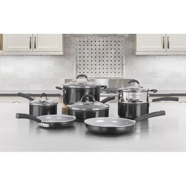 11 Piece Non-Stick Cookware Set by Cuisinart