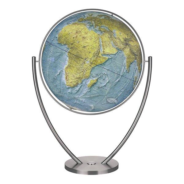 Magnum Duorama Illuminated Floor Globe by Columbus Globe