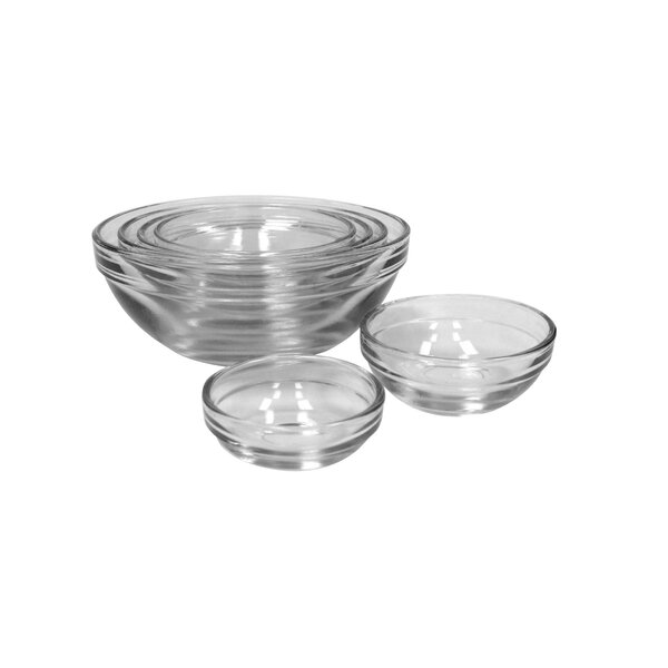 Glass Mixing Bowl (Set of 4) by Anchor Hocking
