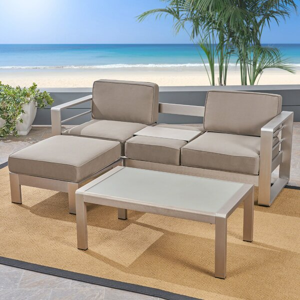 Royalston 3 Piece Sofa Seating Group with Cushions by Brayden Studio