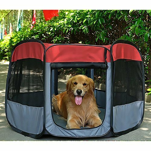 27 Portable Outdoor Puppy Dog Pen by Favorite
