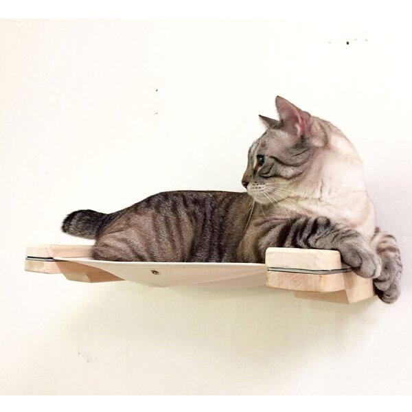 18 Mod Cat Hammock Wall-Mounted Perch by Catastrop