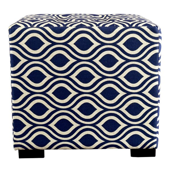 Emerie Tufted Cube Ottoman By Winston Porter