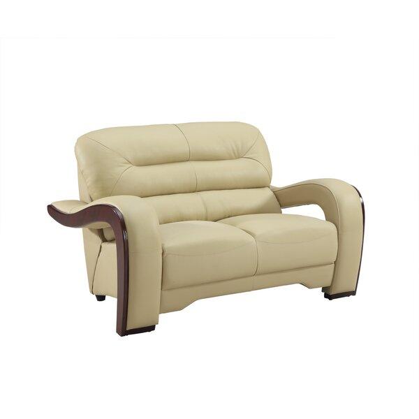 Hawkin Luxury Living Room Loveseat By Orren Ellis