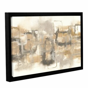 Platinum Neutrals II Framed Painting Print on Wrapped Canvas by Latitude Run