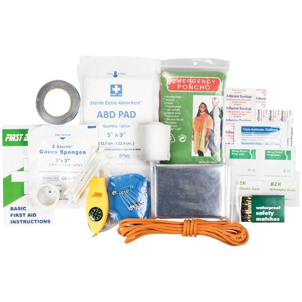 Quick Grab First Aid and Survival Kit by LifeGear
