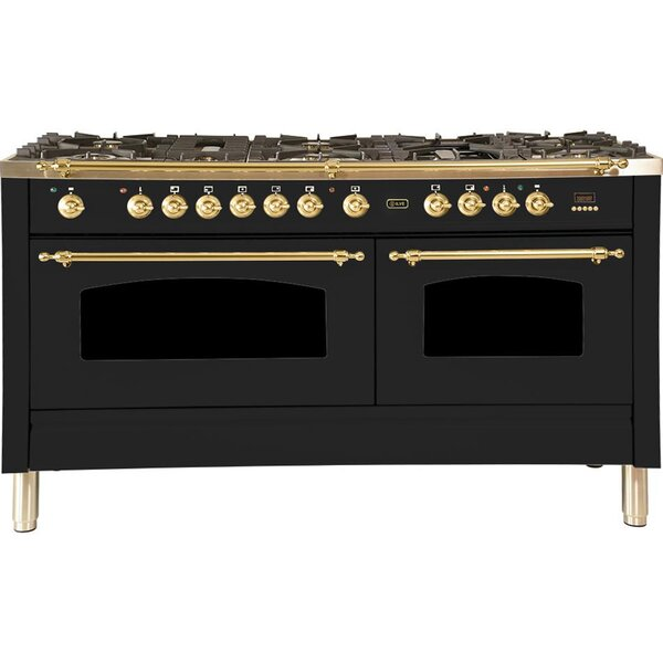 Nostalgie Series 60 5.99 cu. ft. Freestanding Dual Fuel Range with Griddle