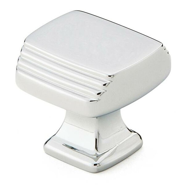 Art Deco Square Novelty Knob by Emtek