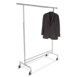 Find the perfect 60 W Single Hangrail Rolling Clothes and Garment Rack By Econoco