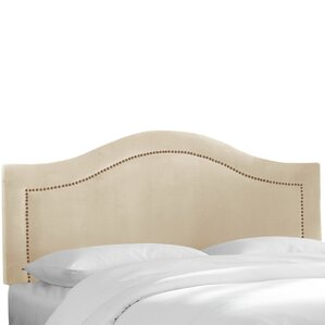 Alaraph Velvet Inset Nail Button Upholstered Panel Headboard by Willa Arlo Interiors
