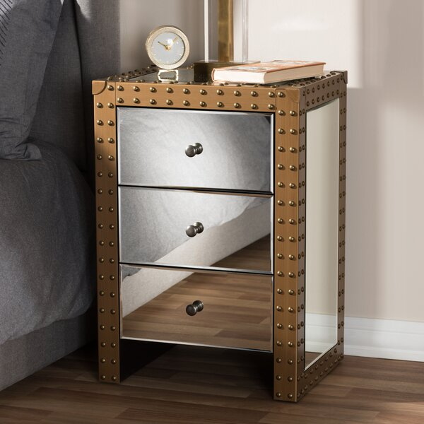 Marla 3 Drawer Nightstand By 17 Stories