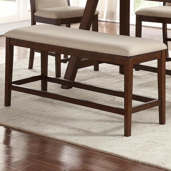 Roye Wood Bench by Charlton Home