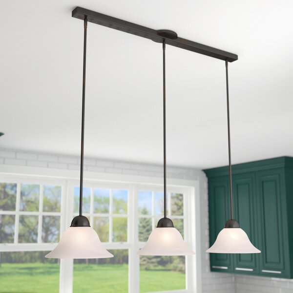 Engelbrecht 3-Light Kitchen Island Pendant by Three Posts