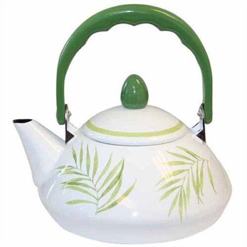 Bamboo Leaf 1.2-qt. Personal Tea Kettle by Corelle