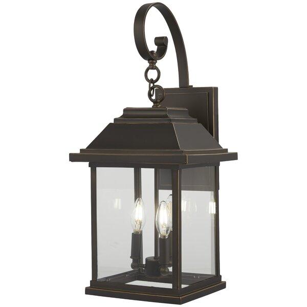 Duplantis 4-Light Outdoor Wall Lantern by Charlton Home