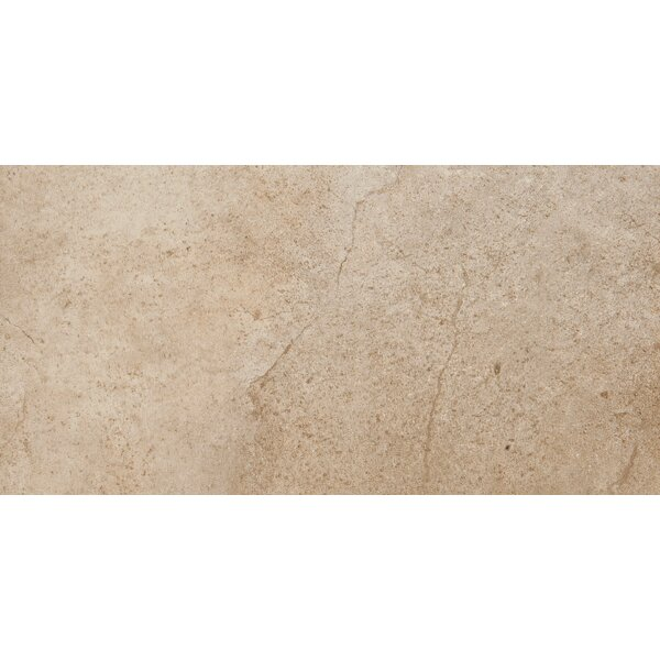 St. Moritz 12 x 24 Porcelain Field Tile in Cotton by Emser Tile