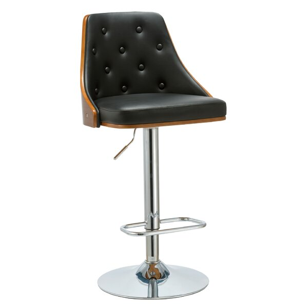 Lucrezia 24.8 Swivel Bar Stool by Porthos Home