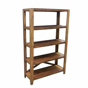 Essential D?cor and Beyond Wooden Etagere Bookcase Entrada