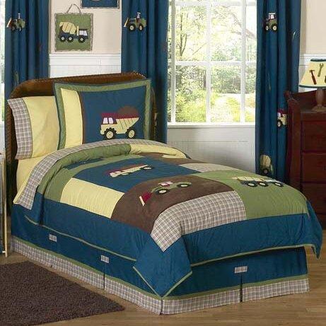 Construction Zone 3 Piece Comforter Set by Sweet Jojo Designs